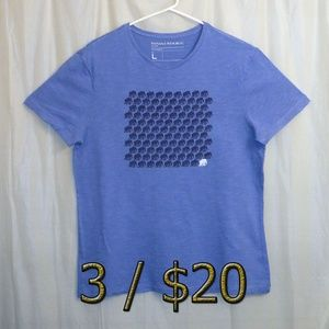 3/$20 Banana Republic T-Shirt Elephants Blue Large